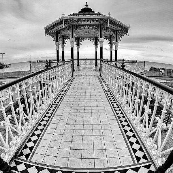 The Brighton Bandstand & Wheel
