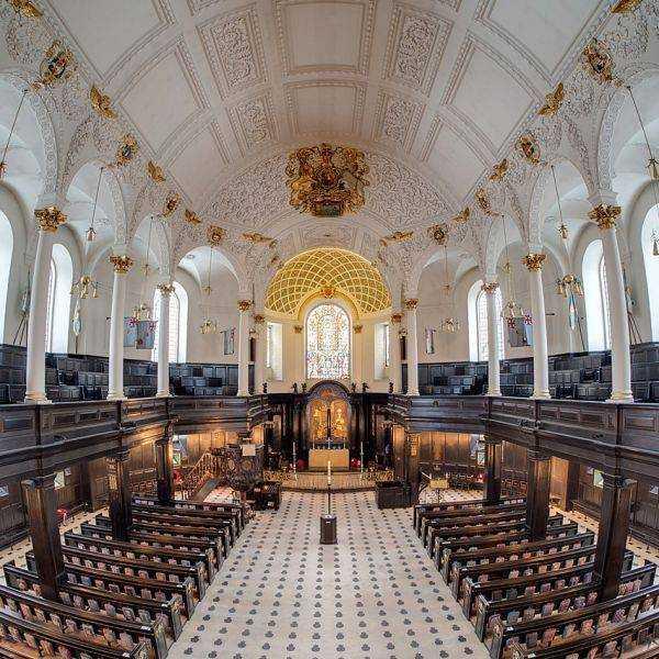 St Clements Dane London RAF Church