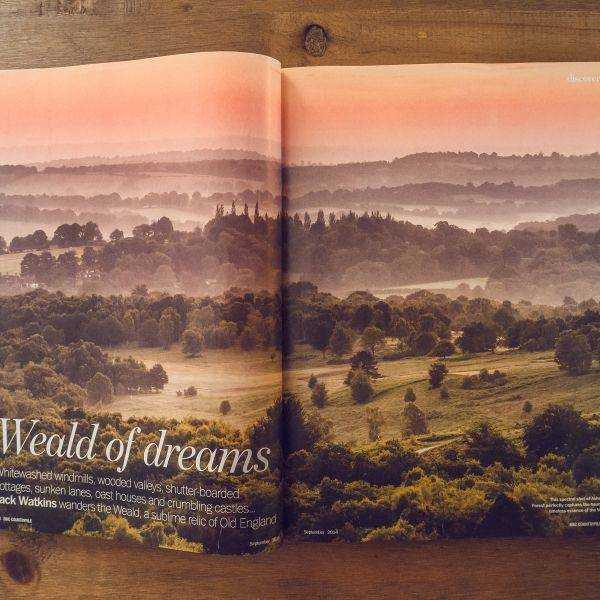 Countryfile Sussex Weald spread