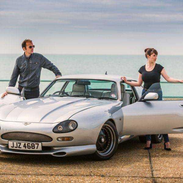 2 Models and a Jaguar XJS Monaco
