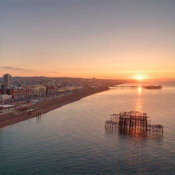 British Airways i360 Aerial Photos