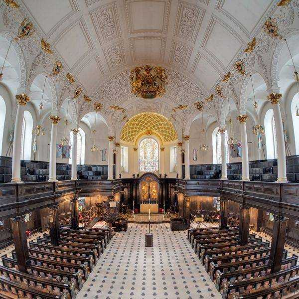 St Clements Dane London RAF Church