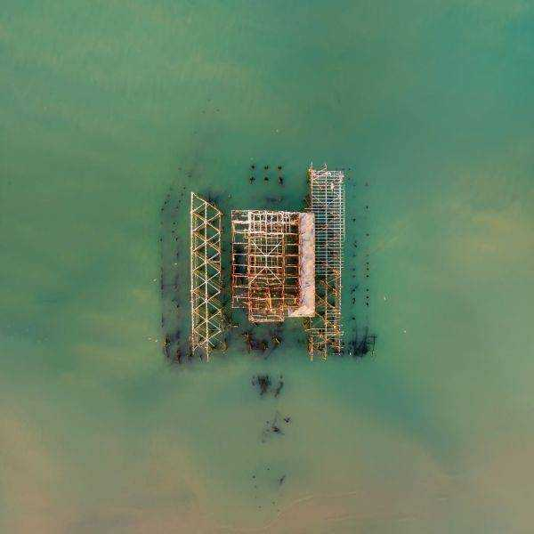 West Pier Aerial Photos
