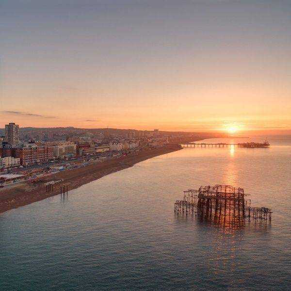 British Airways i360 Aerial Photos