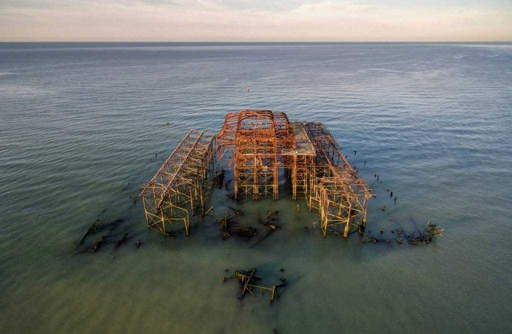 The West Pier Aerial
